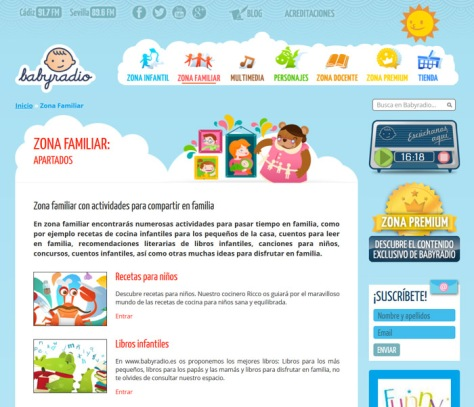Web Babyradio